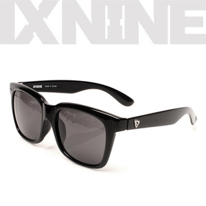 IXNINE SunglassMarlieGloss Black Polarized